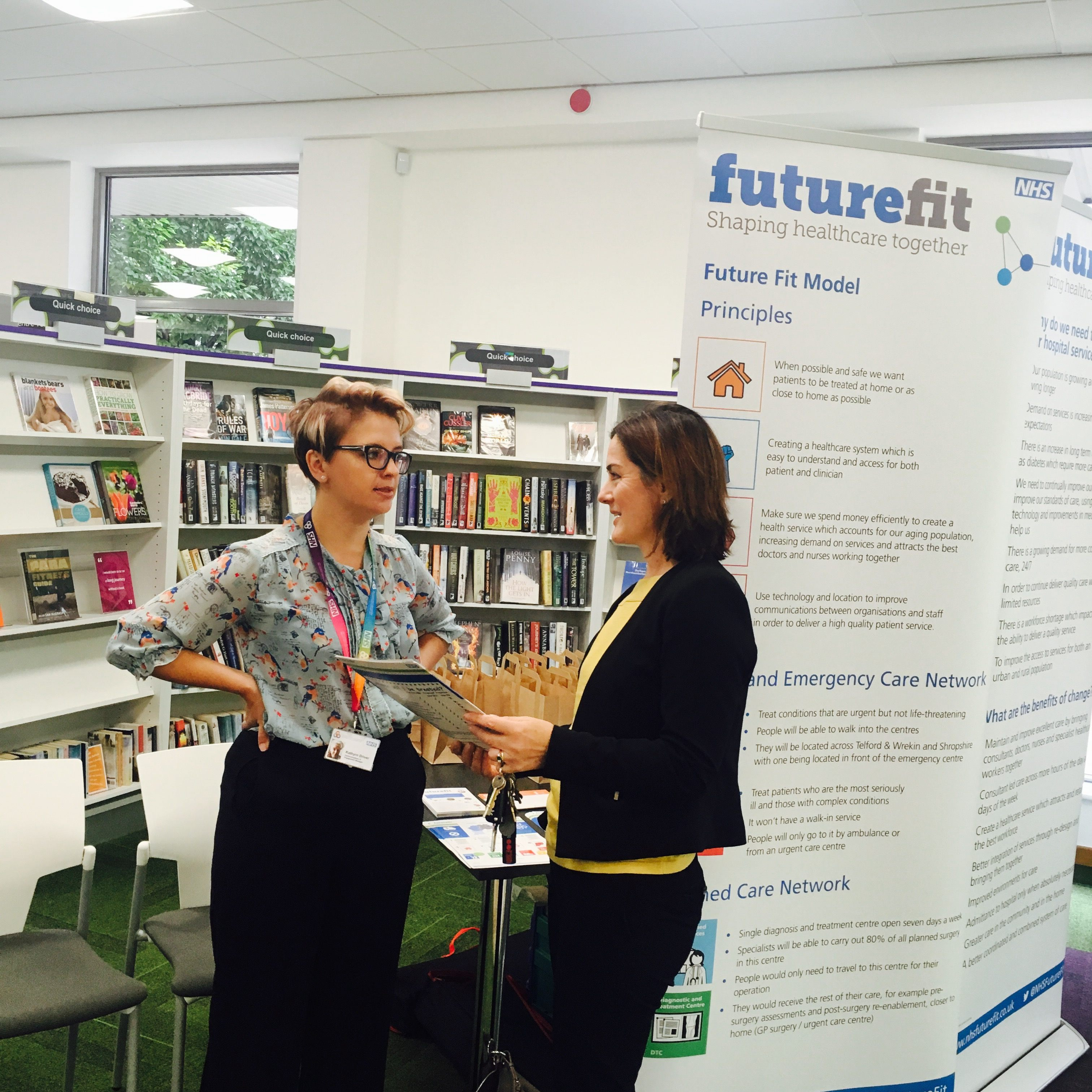 Lucy attends Future Fit drop in | Lucy Allan