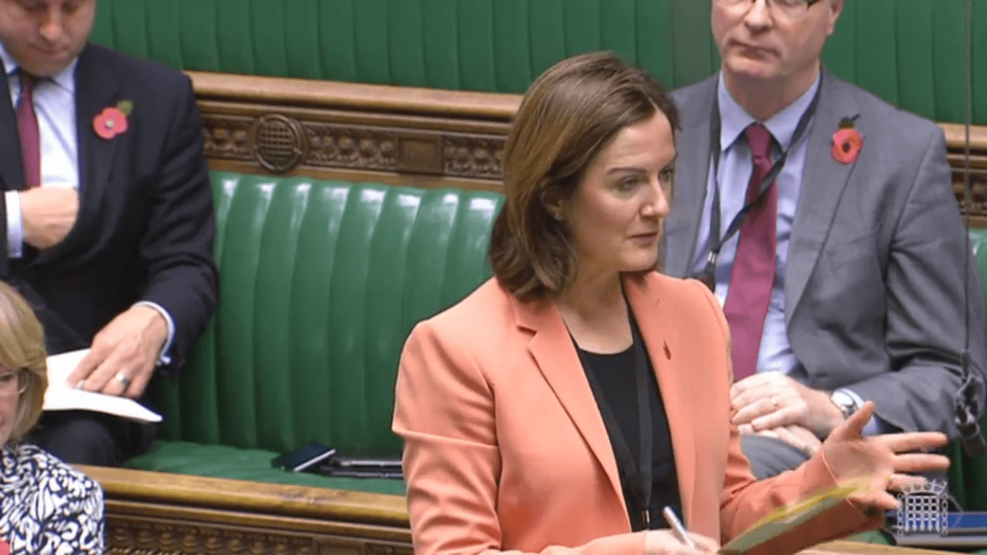 Lucy Allan fighting for the Princess Royal