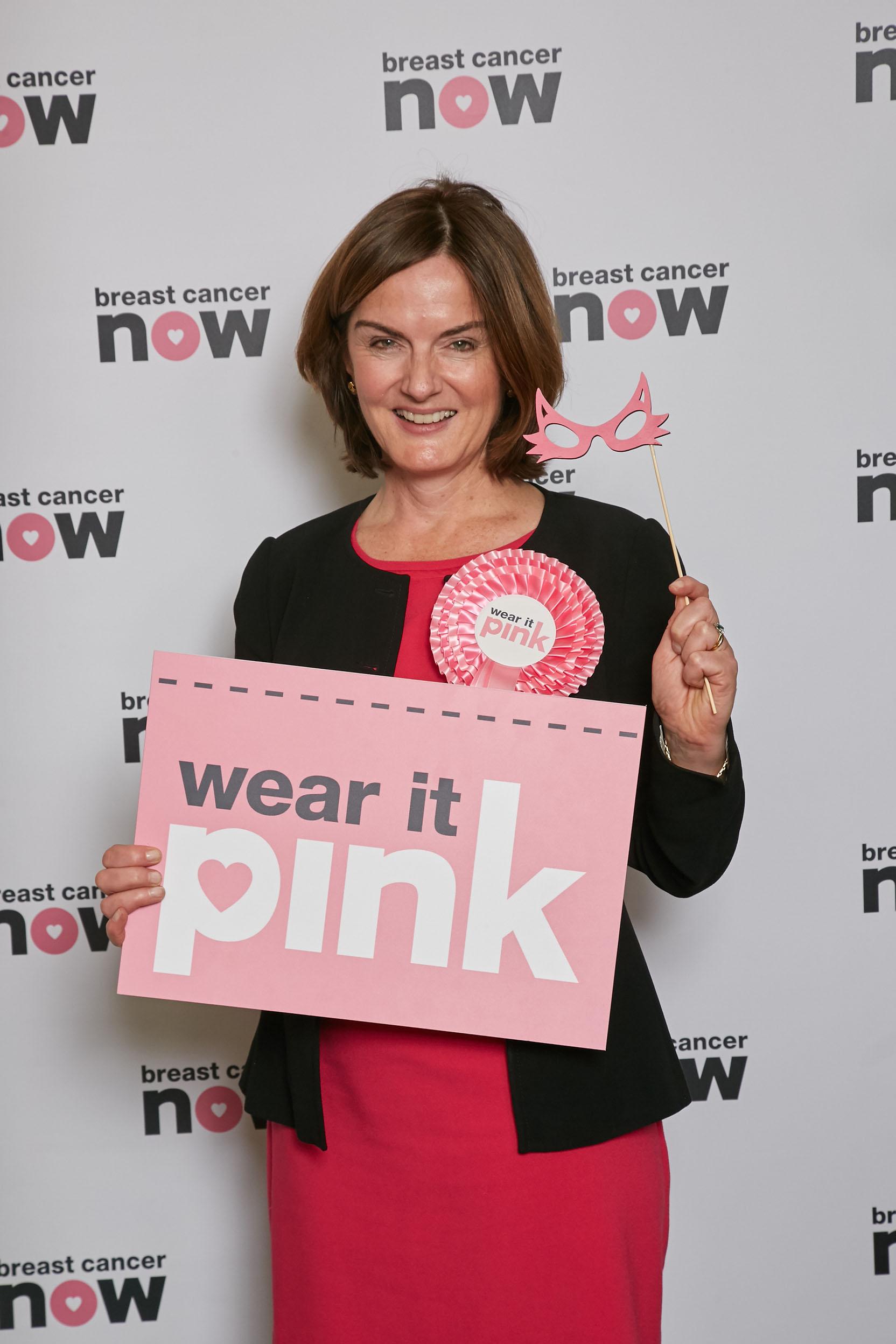 lucy allan mp backs wear it pink campaign