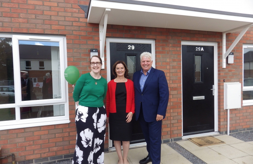 Lucy Allan with Wrekin Housing Trust