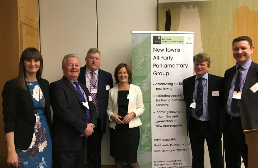 Lucy Allan MP with Telford business leaders
