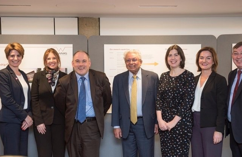Lucy Allan with other members of the Education Select Committee