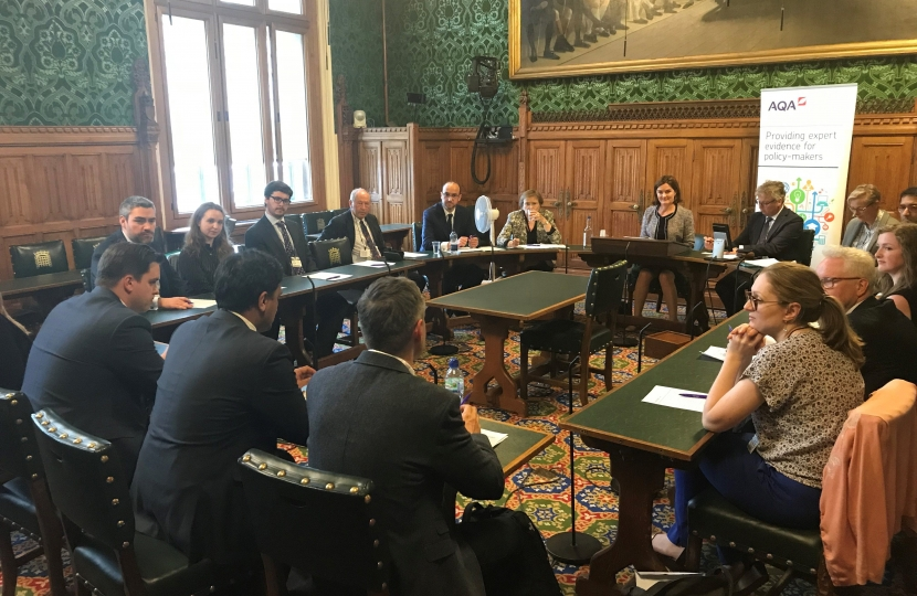 AQA roundtable event in Parliament