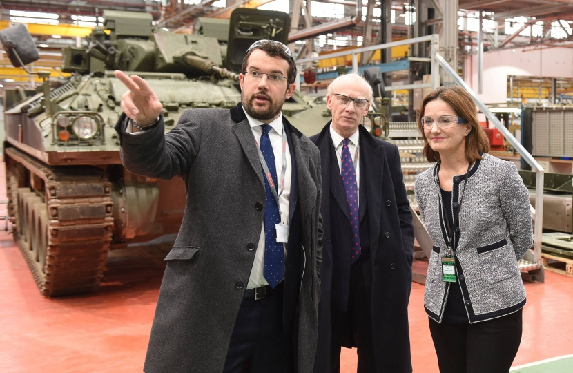 Lucy Allan at BAE Systems Telford