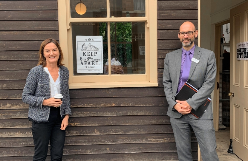 Lucy Allan welcomes Ironbridge Gorge Museums Trust's 'Bounce Back' plan