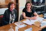 Lucy Allan and Professor Sandra McNally