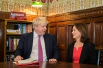 Lucy Allan MP & Boris Johnson MP