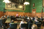 Lucy hosts a Telford school in Parliament